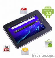 "7"" infortm android 2.3 tablet pc 1GHz Camera RJ45 3G 4GB tablet PC eke"