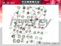 Nickel Torsion Spring , battery spring , Zinc torsion spring