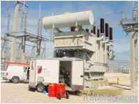 waste transformer oil filtration