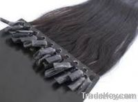 High quality pre-bonded hair extensions