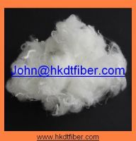 polyester staple fiber/staple fiber/100% Polyester /White/15D/7D Hollow conjugated silicon