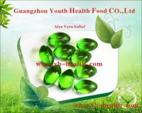 GMP Certified Health and Beauty Aloe Vera Oil Softgel