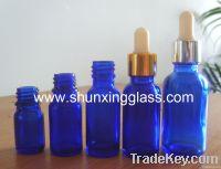 glass essential oil bottle