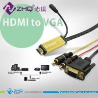 HDMI -VGA/Audio Connector