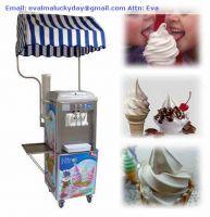 Frozen Yougurt Soft Ice Cream Machine
