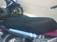 breathable motorcycle seat cover