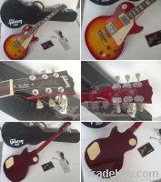 Gibson Les Paul Custom sun color electric guitar