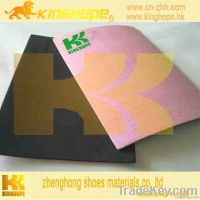 fiber insole board laminted with EVA