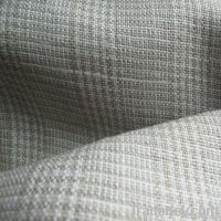 linen home textile fabric check pattern (GE1025)
