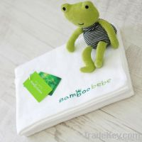 Organic Bamboo Baby Bath Towel