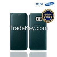 SAMSUNG Galaxy S6 edge Wallet Flip Cover (PU)