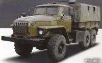 Tires for Ural military trucks
