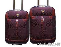 Plastic luggate setes