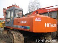 Used Excavator Hitachi EX200