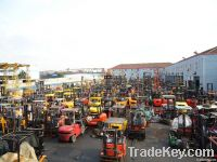Used Komatsu forklift 8 tons In Good Condition