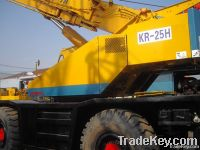 Used Kato 25T Rough Terrain Crane