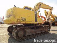 Used (Secondhand) Komatsu PC120 Crawler Excavator