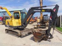 Used Volov EC55B crawler excavator/Used Excavator