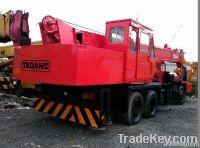 used Tadano 25ton truck crane