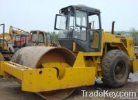 Used vibratory roller XCMG