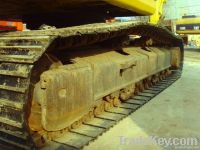 Used Komatsu PC220 Crawler Excavator