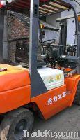 Used Heli 3tons Diesel Forklift