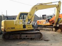 Used Crawler Excavator PC120-6 With good condition