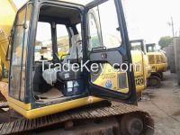 Used Crawler Excavator PC120-6 With good condition