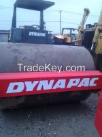Used Dynapac CA30D Single Drum Roller /compactor