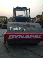Used Road Roller Dynapac/Used Compactor CA25D for exporting