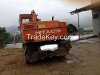Used Wheel Excavator Hitachi EX120WD