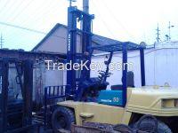 Used Diesel Komatsu Forklift FD50 5T