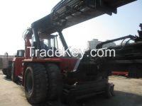 Used Stracker Kalmar DRF450/Container forklift