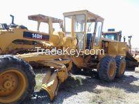 Used Grader Caterpillar 140H/CAT 140H Bulldozer