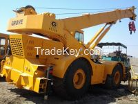 Used Rough Terrain Crane Grove 50T RT750