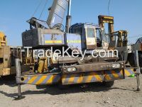 Used Rough Terrain Crane Kato KR25H 25T