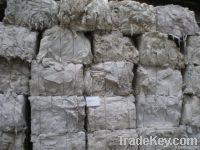 Recycled White waste Tissue in bales