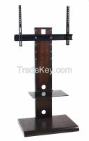 modern design wooden tv stand / glass tv stand