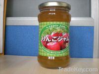 Canned apple jam