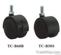 Twin Wheel Casters 50mm (TC-B50S)