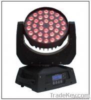 36*10W RGBW Quad LED moving head wash