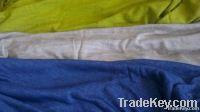 pure linen delave single jersey fabric