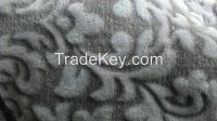 soft handfeel polyester coral fleece 3d carving printed blanket fabric