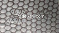 Flannel Printed Cut Flower Carving Fabric For Hometextile And Blanket