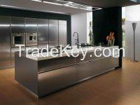 Fashionable Design Lacquer Kitchen Cabinet