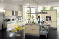 European Design Lacquer Kitchen Cabinet