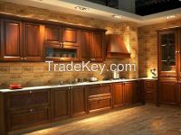 Classic Design Solid Wood Kitchen Cabinet