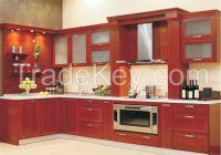 Antique Design Solid Wood Kitchen Cabinet