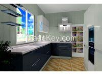 Fashionable Design Contemporary Lacquer Kitchen Cabinet