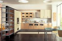 Modern and Sleek Design Contemporary Lacquer Kitchen Cabinet